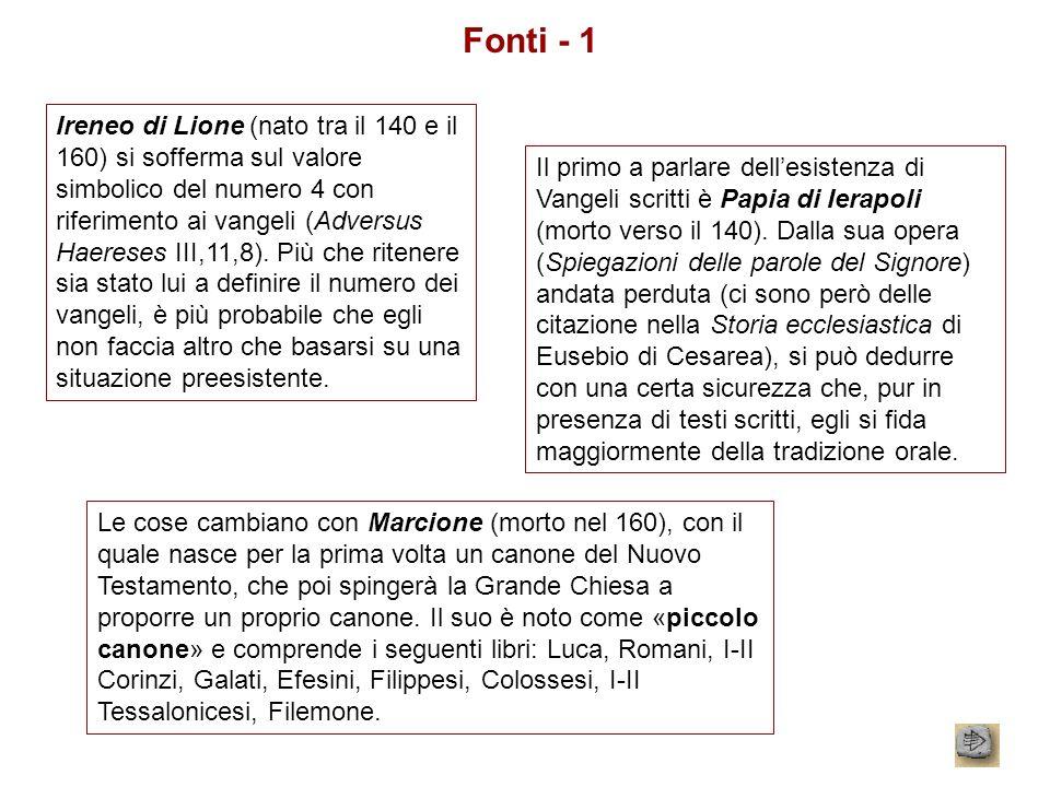 Fonti - 1