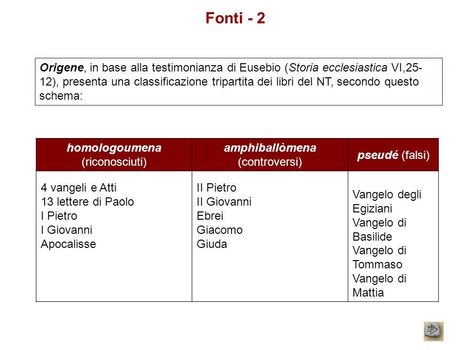 Fonti - 2