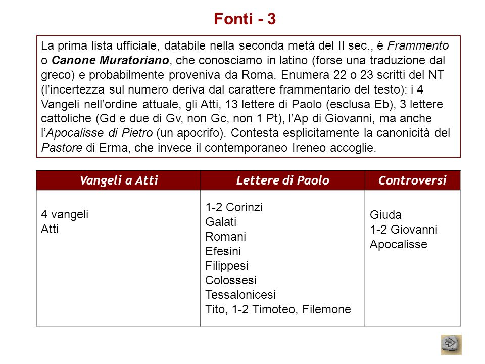 Fonti - 3
