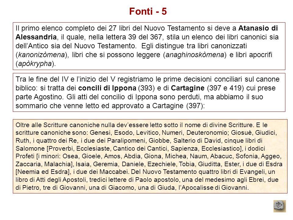 Fonti - 5