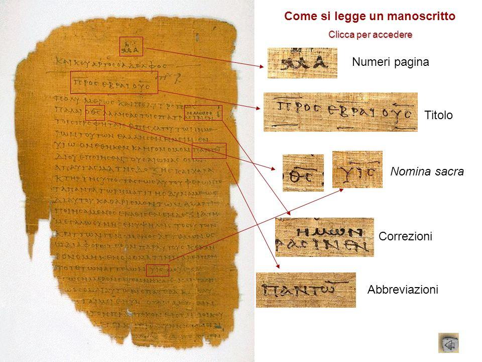 Come si legge un manoscritto
