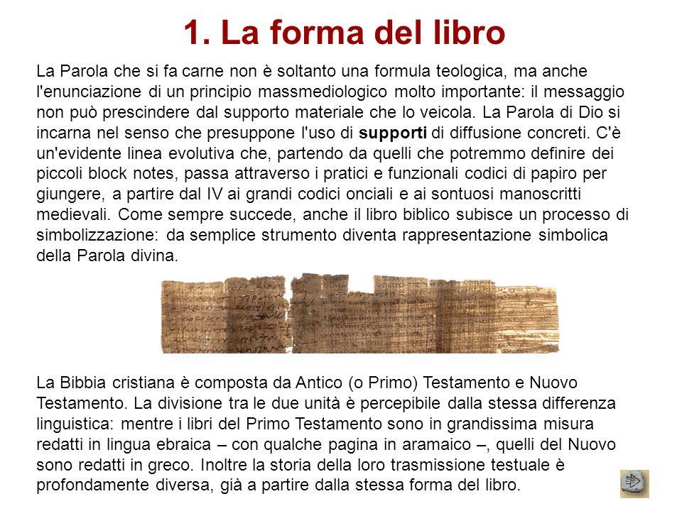 1. La forma del libro