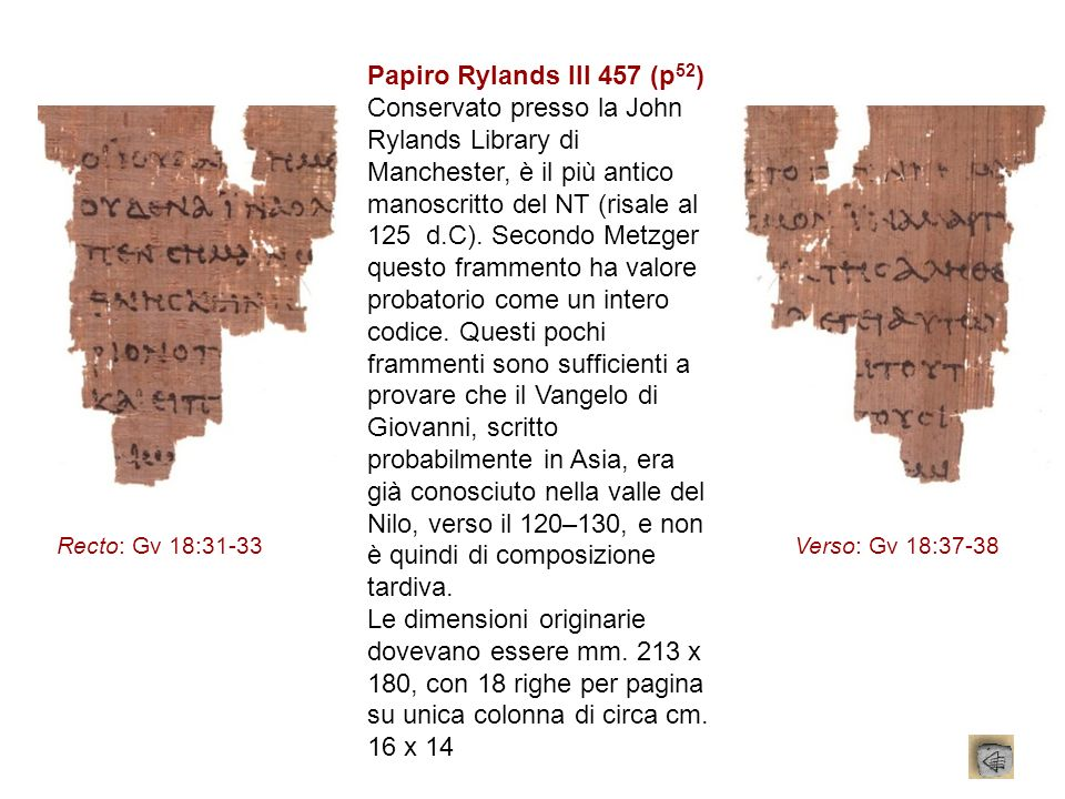 Papiro Rylands III 457 (p52)