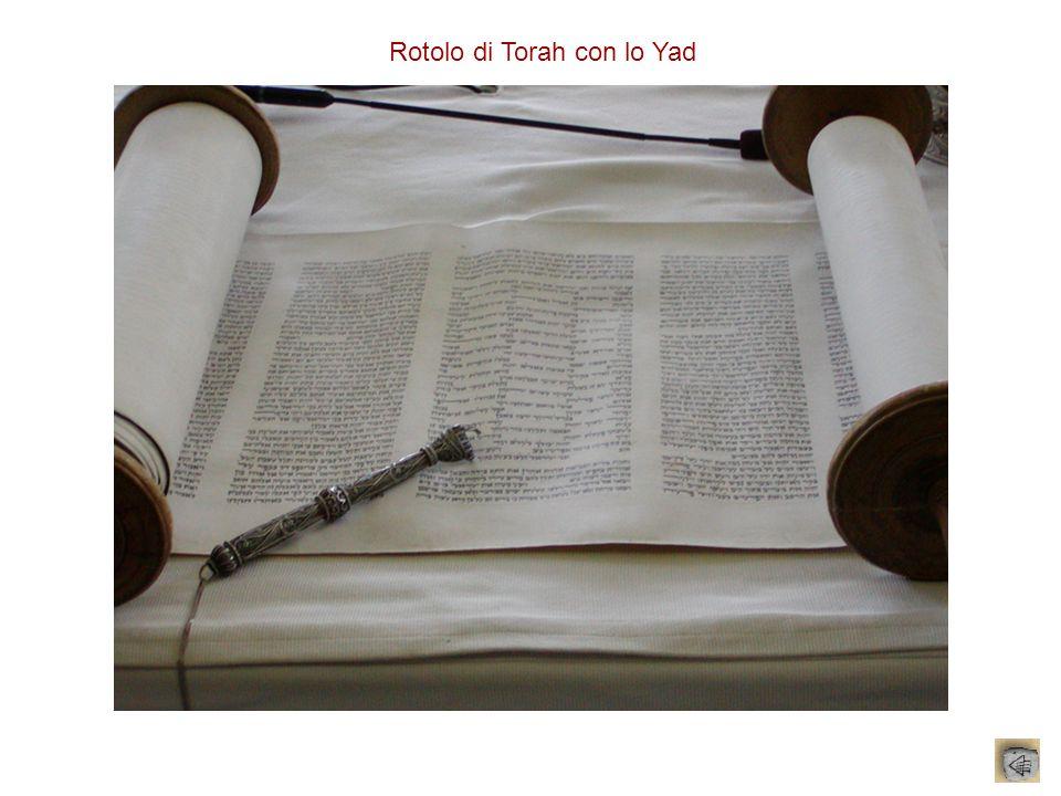 Rotolo di Torah con lo Yad