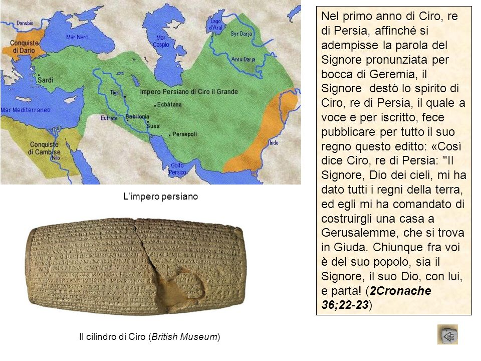 Il cilindro di Ciro (British Museum)