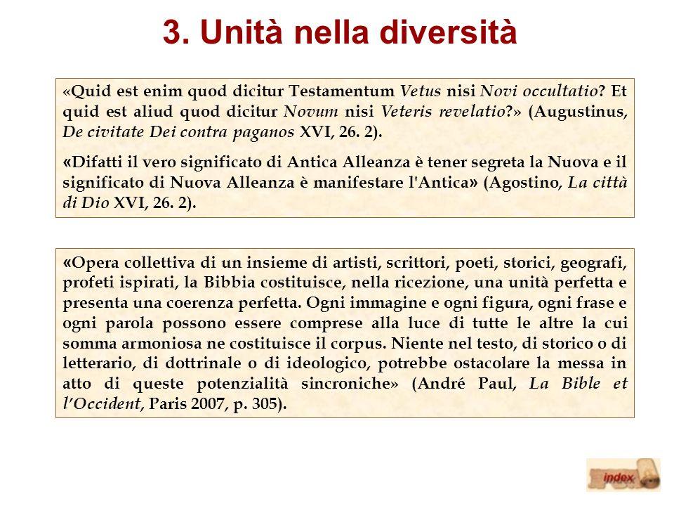 3. Unità nella diversità