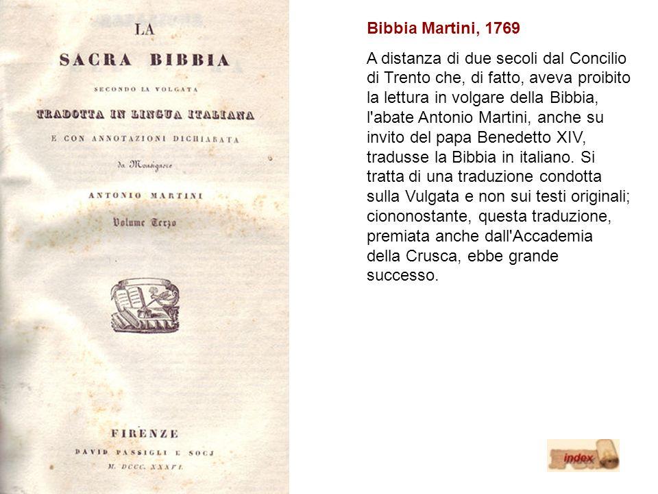 Bibbia Martini, 1769