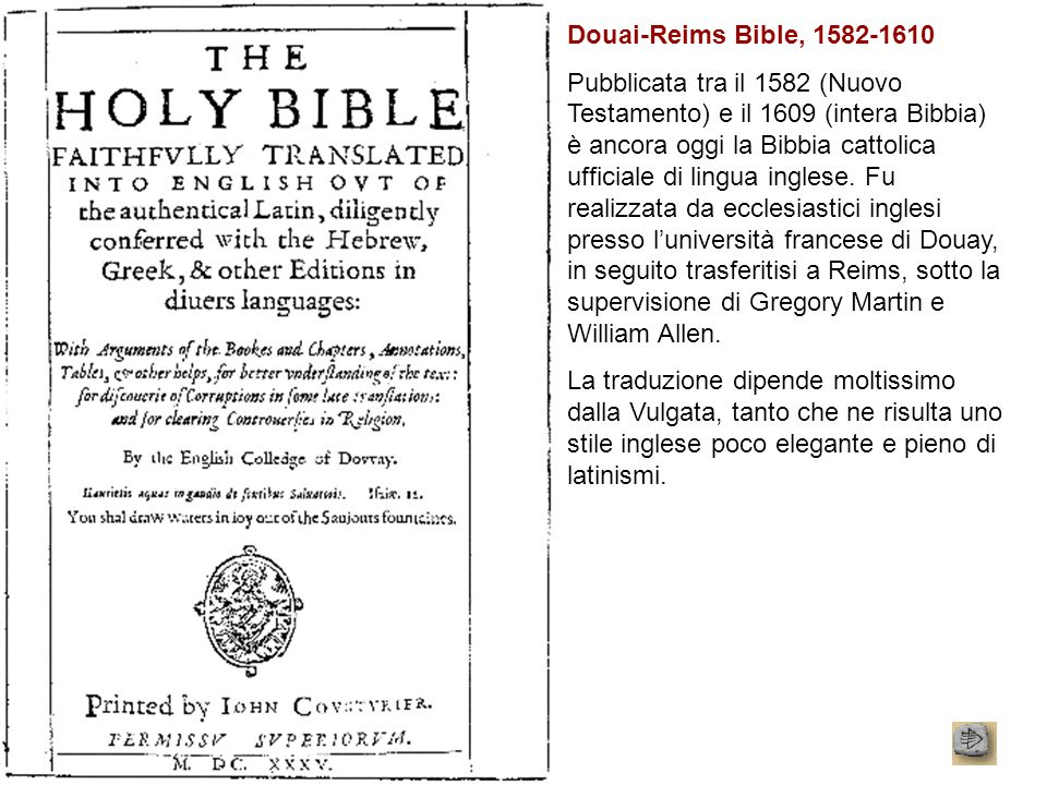 Douai-Reims Bible,