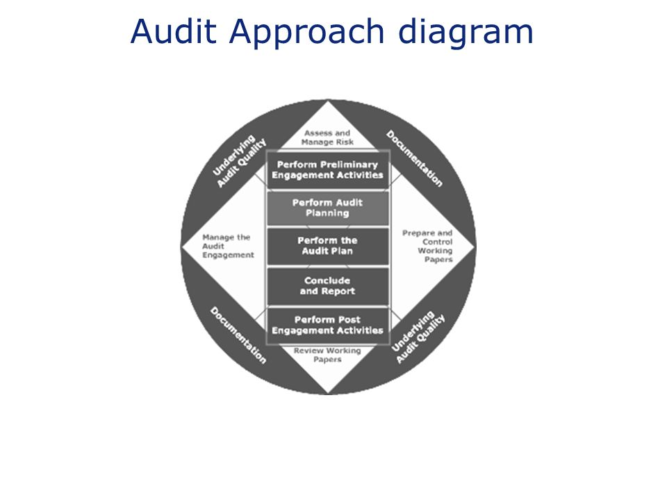 Audit Approach diagram