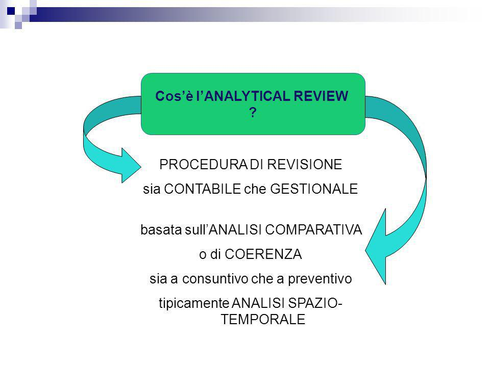 Cos'è l'ANALYTICAL REVIEW