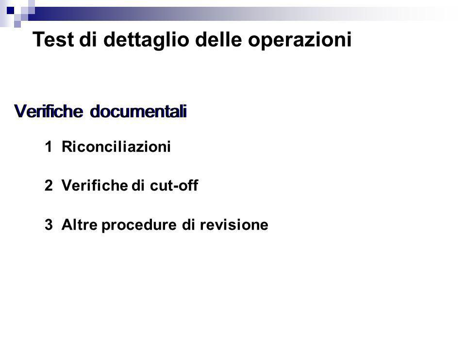 Verifiche documentali
