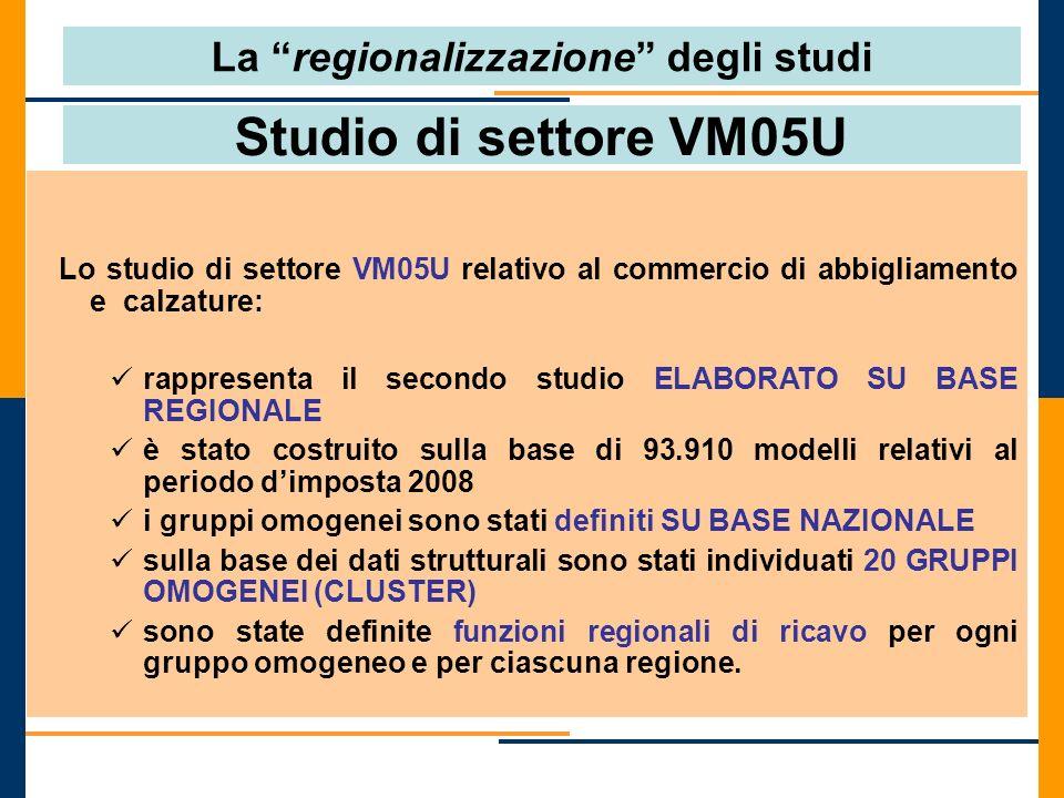 La regionalizzazione degli studi