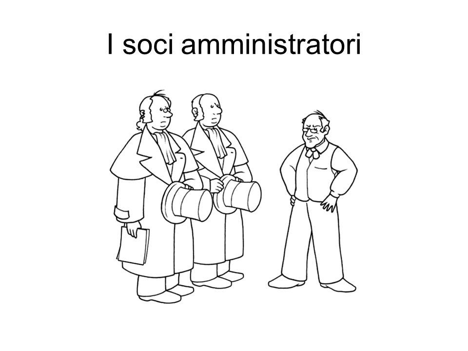 I soci amministratori