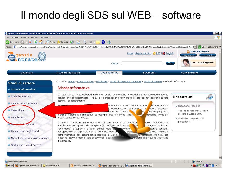 Il mondo degli SDS sul WEB – software