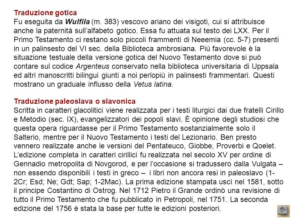 Traduzione gotica