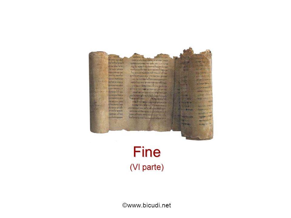 Fine (VI parte) ©www.bicudi.net