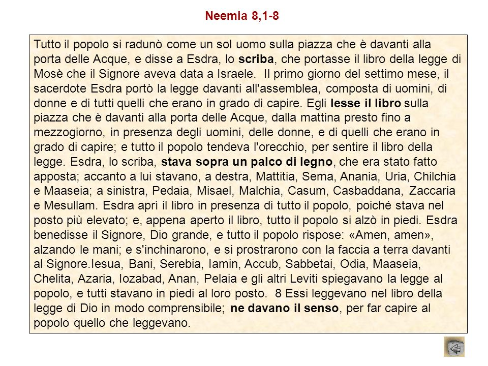 Neemia 8,1-8