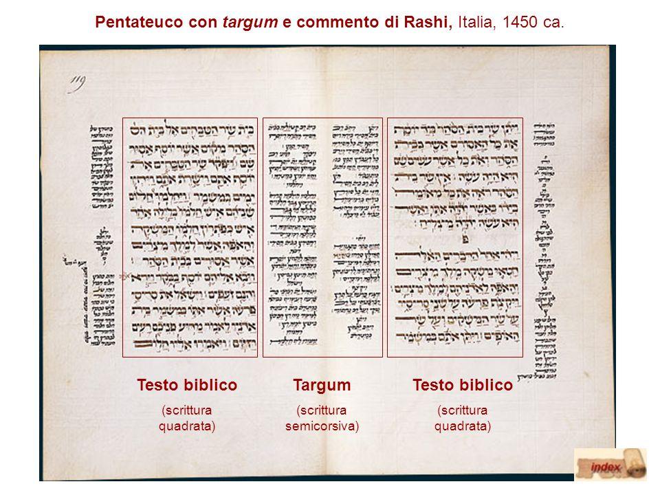 Testo biblico Targum Testo biblico