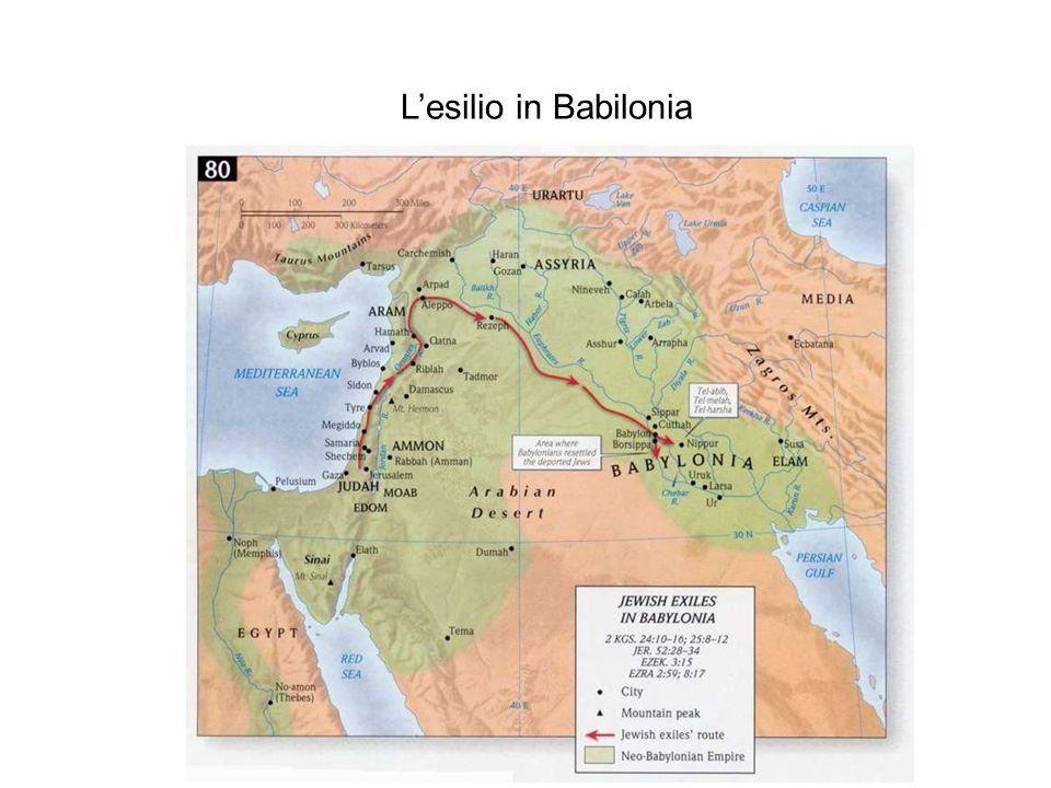 L'esilio in Babilonia