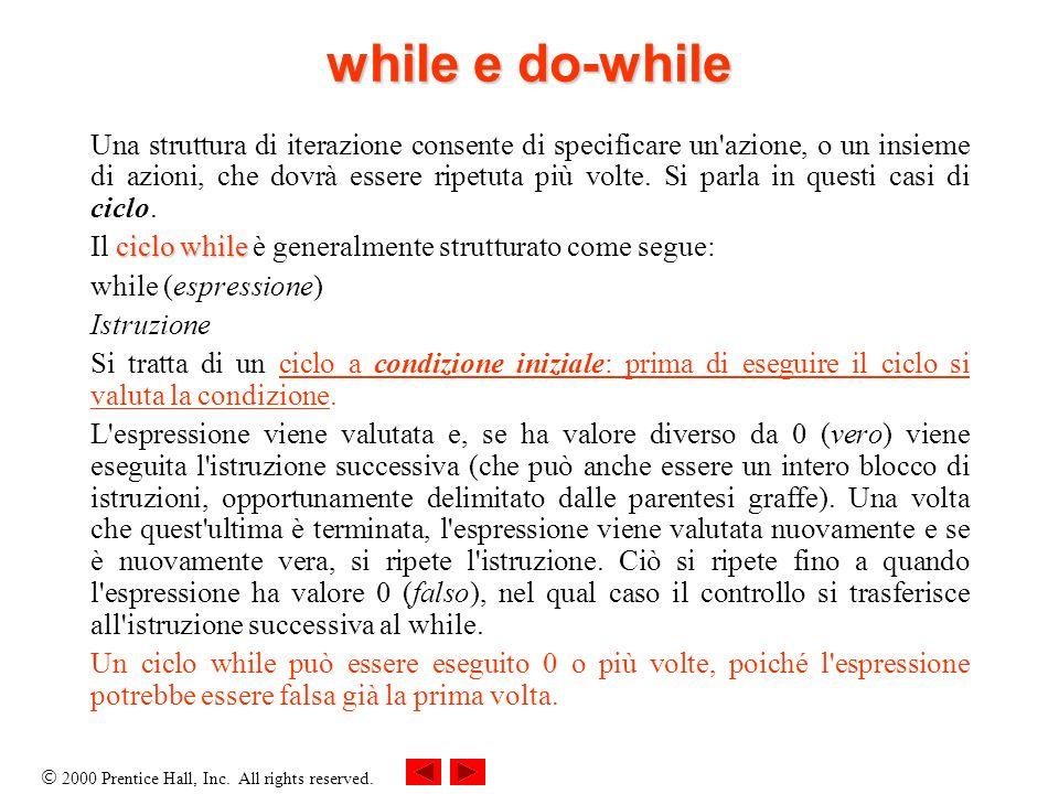 while e do-while