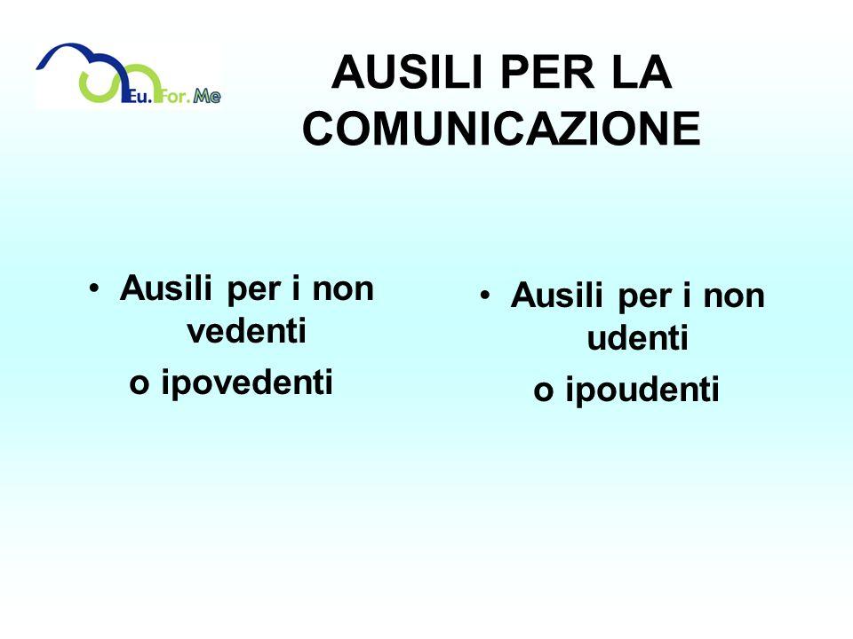 AUSILI PER LA COMUNICAZIONE
