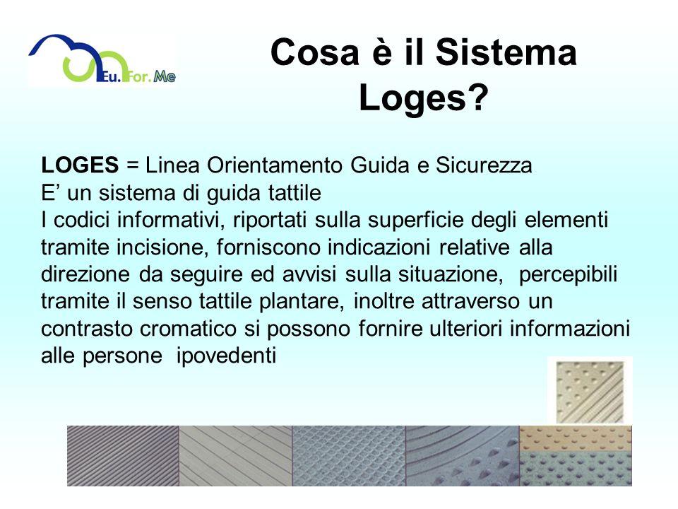 Cosa è il Sistema Loges LOGES = Linea Orientamento Guida e Sicurezza