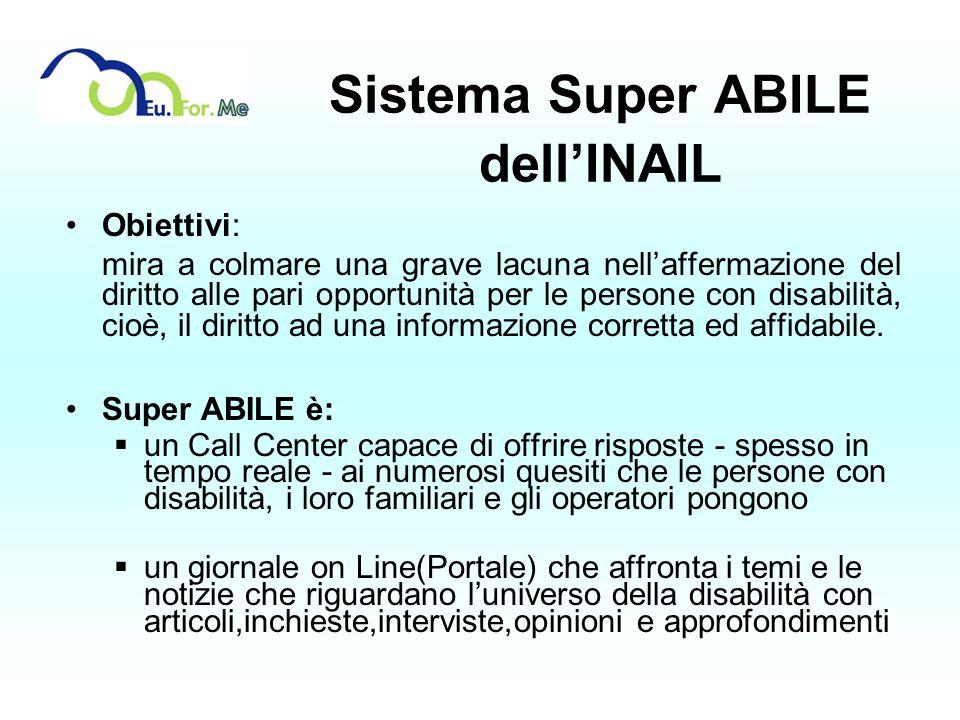 Sistema Super ABILE dell'INAIL