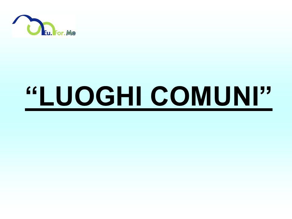 LUOGHI COMUNI