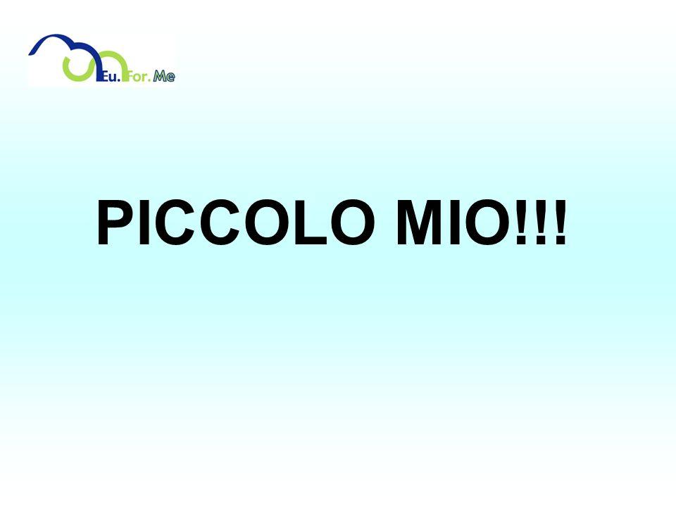 PICCOLO MIO!!!