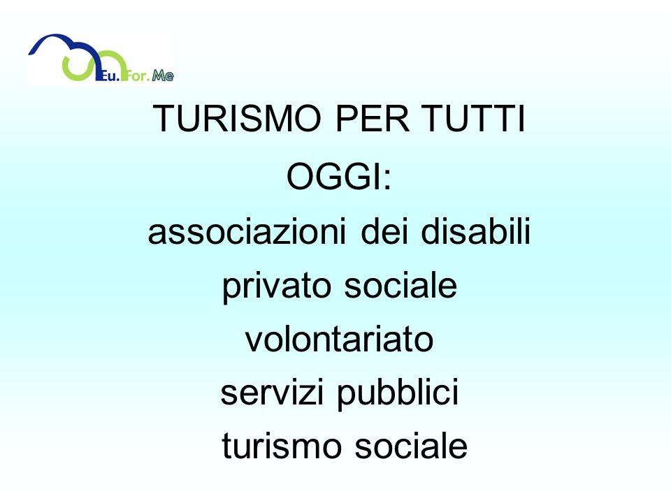 associazioni dei disabili