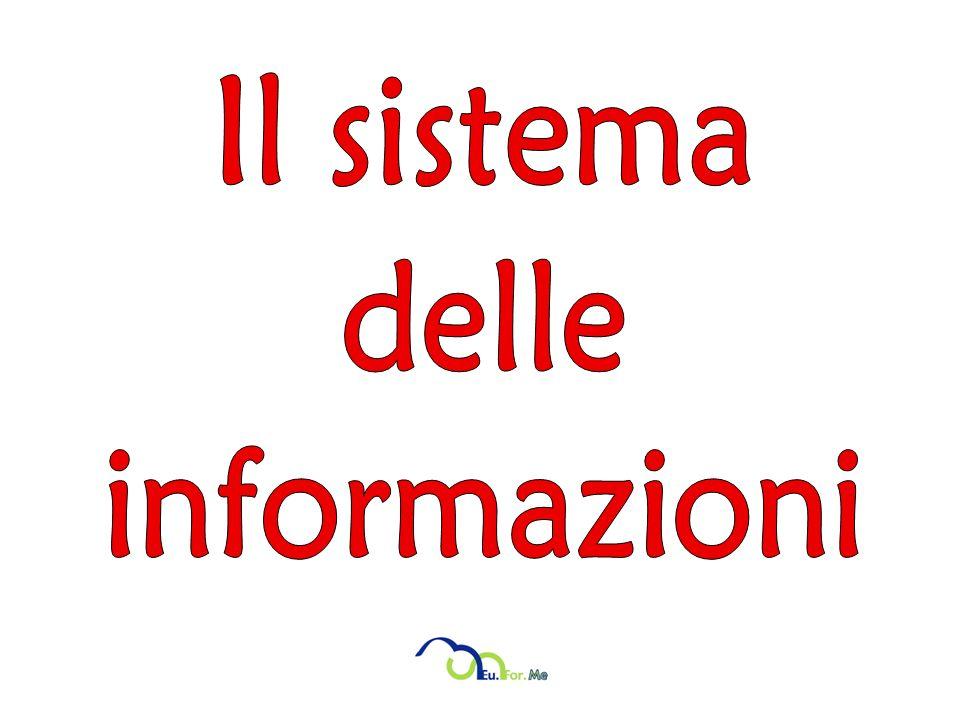 Il sistema delle informazioni