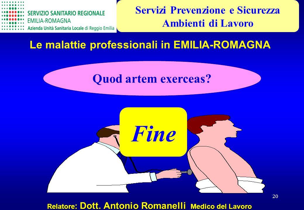 Fine Quod artem exerceas Servizi Prevenzione e Sicurezza
