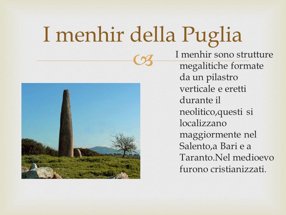I menhir della Puglia