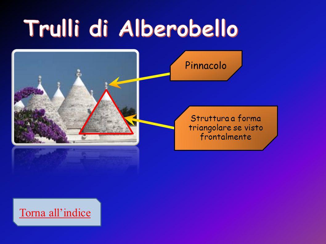 Struttura a forma triangolare se visto frontalmente