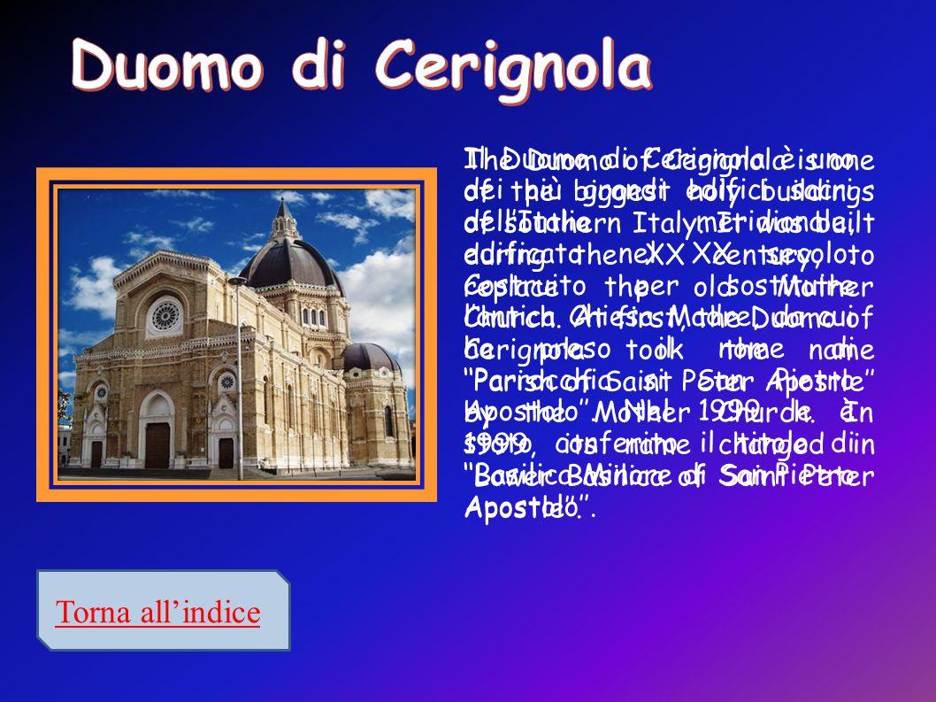 Duomo di Cerignola Torna all'indice