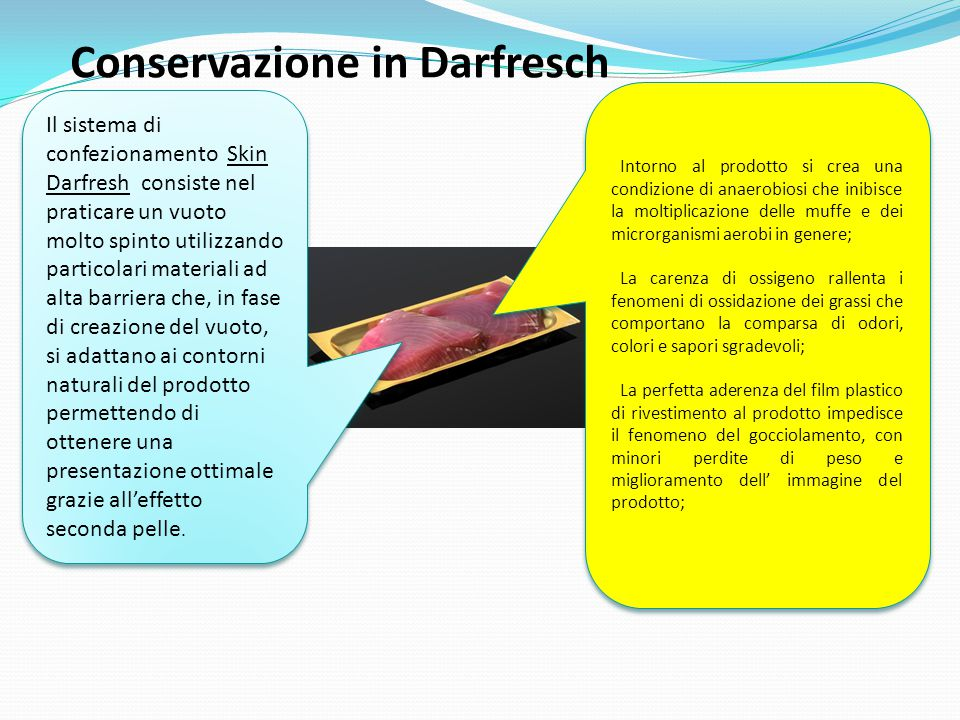 Conservazione in Darfresch