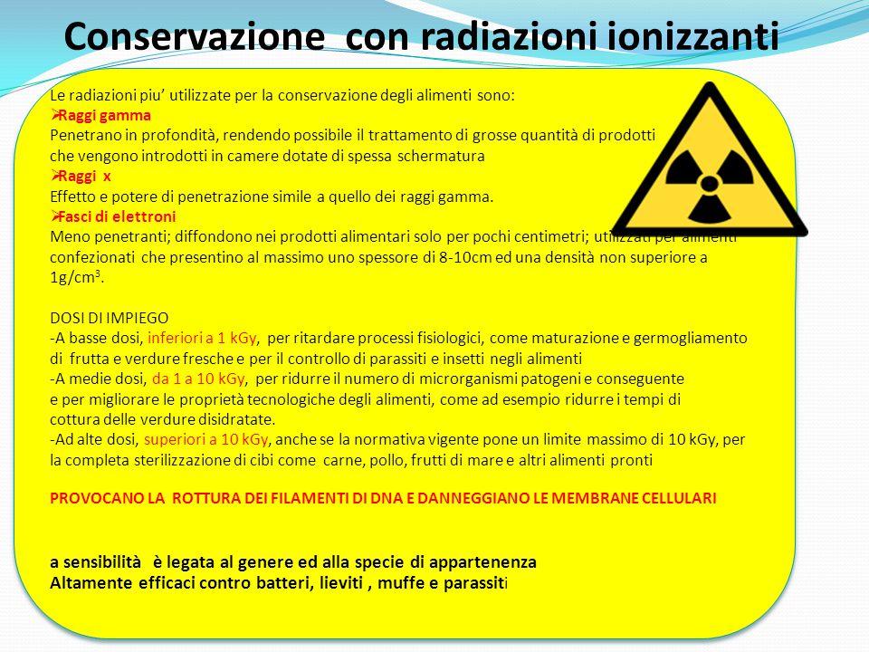 Conservazione con radiazioni ionizzanti
