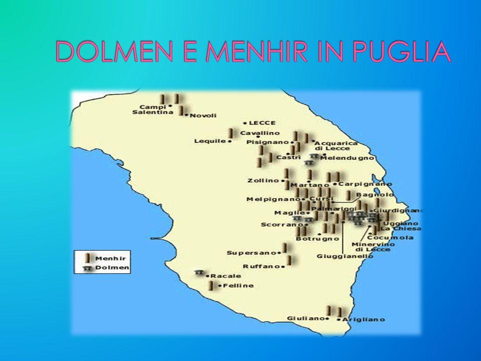 DOLMEN E MENHIR IN PUGLIA