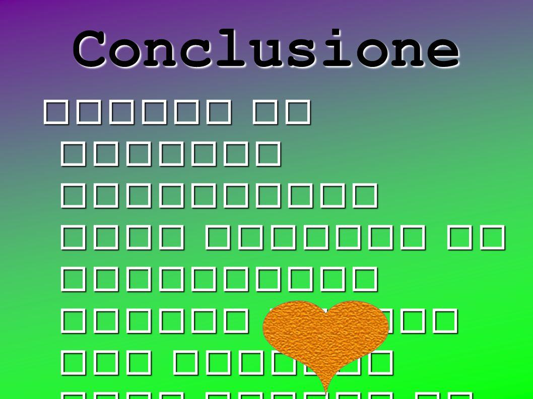 Conclusione Quando le cariche elettriche sono opposte si attraggono mentre quando due cariche sono uguali si respingono.