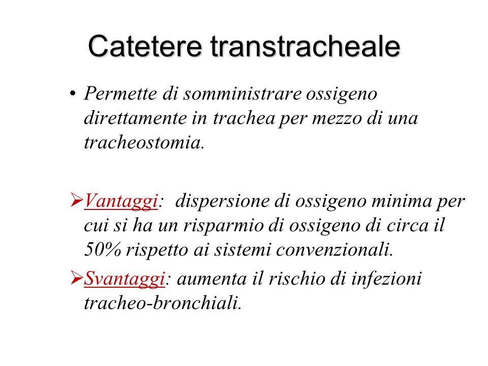 Catetere transtracheale