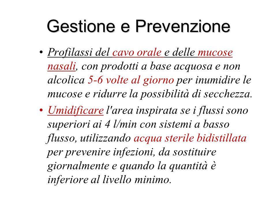 Gestione e Prevenzione