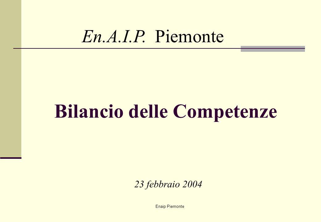 Bilancio delle Competenze