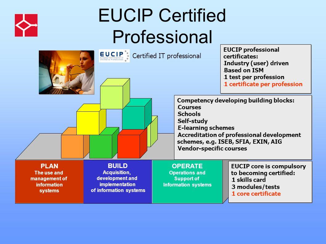 EUCIP Certified Professional