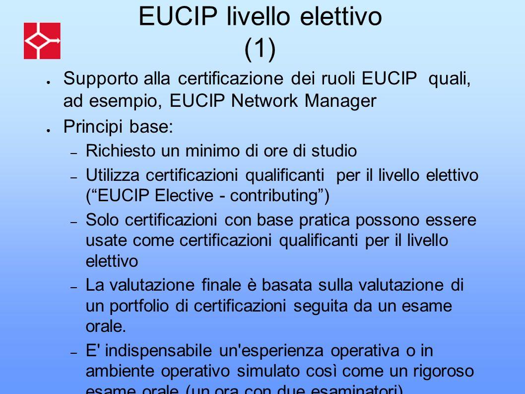 EUCIP livello elettivo (1)