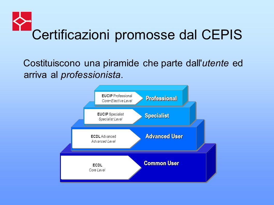 Certificazioni promosse dal CEPIS