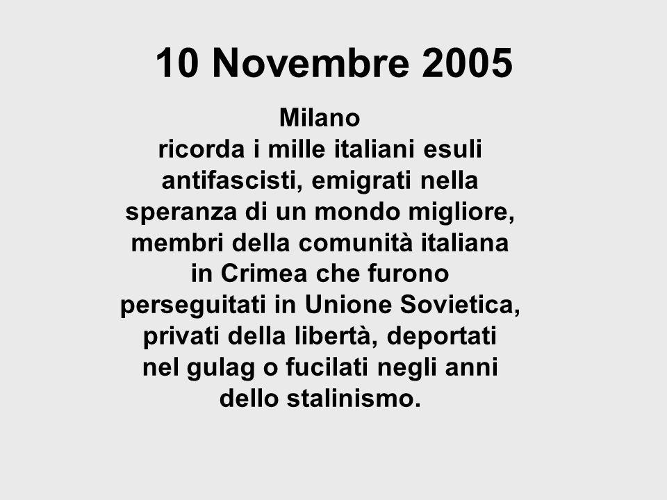 10 Novembre 2005