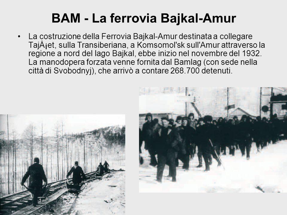 BAM - La ferrovia Bajkal-Amur