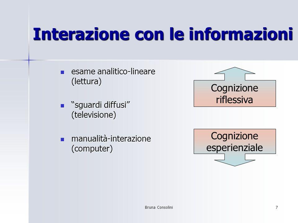 Interazione con le informazioni