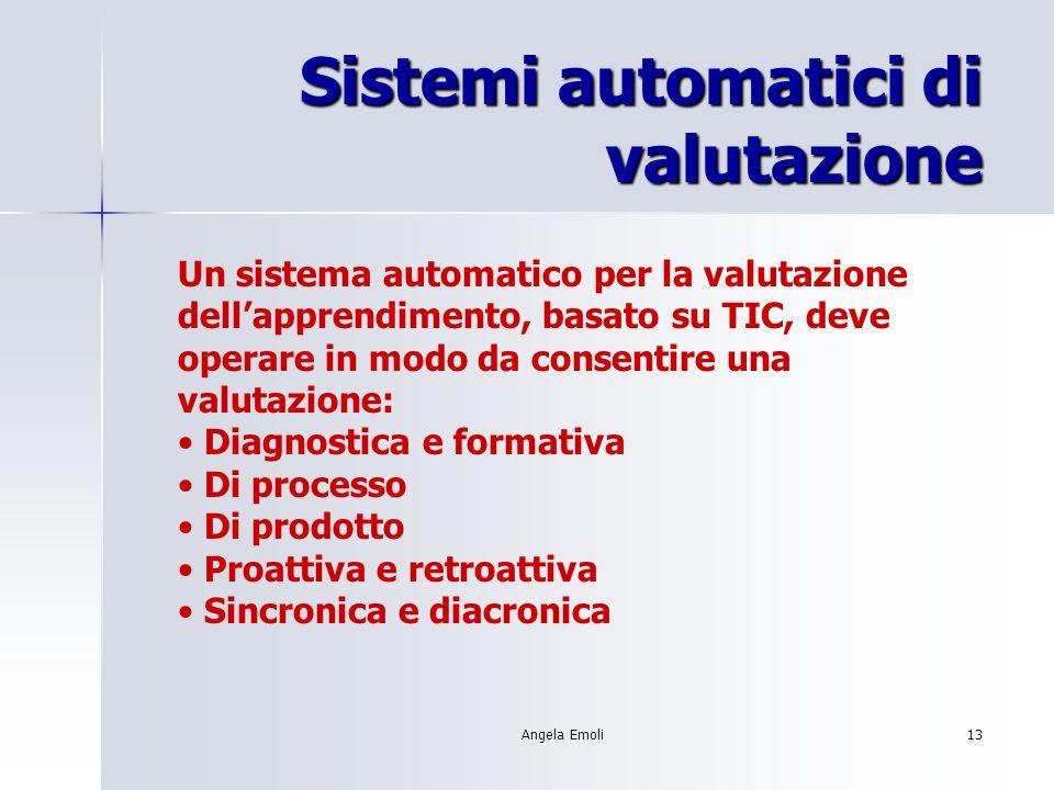 Sistemi automatici di valutazione