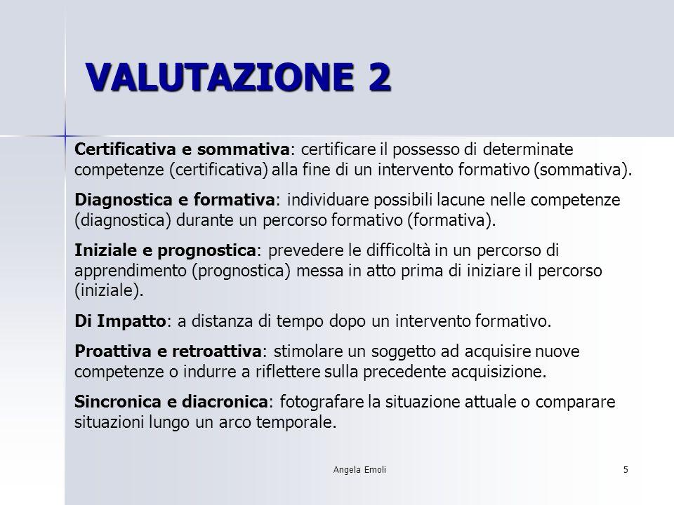 VALUTAZIONE 2